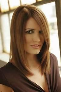 Coupe Longue Femme : coupe des cheveux mi long modele de coiffure mi long avec ~ Dallasstarsshop.com Idées de Décoration