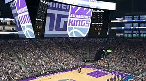 Golden One Kings Seating Chart First Look Golden 1 Center In Nba2k Sacramento Kings