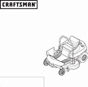 Craftsman Lawn Mower 107 28993 User Guide
