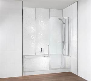 Sitzwanne Mit Dusche : badewanne mit tr und dusche beautiful kleine badewannen ~ Michelbontemps.com Haus und Dekorationen