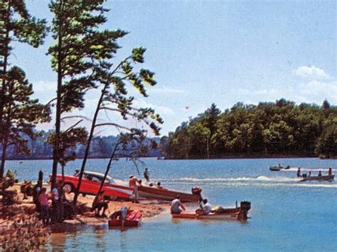 Houseboat Rentals Lake Norman Nc by A Look Through Time The History Of Lake Norman