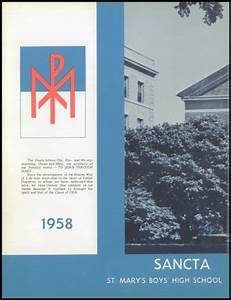 Explore 1958 St. Mary's High School Yearbook, Lynn MA ...