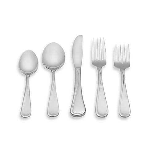 oneida flatware flight sets collection bedbathandbeyond beyond bath bed stainless steel forks