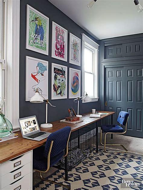 unique paint colors that just work desk and office walls