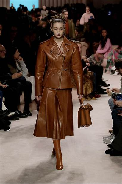 Winter Fall Trends Fendi Outfits Looks Leather