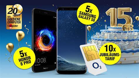 Jubilaeums Gewinnspiel 20 Tolle Preise by Gewinnspiel Top Tarif Und Smartphones Computer Bild