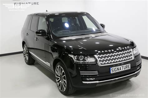 Range Rover Vogue Autobiography 4 4 Sdv8 Hire A Luxury