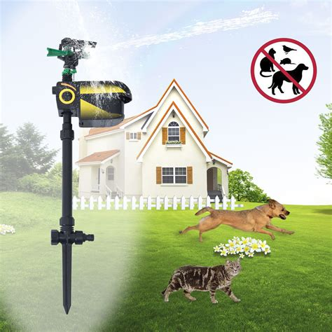 Pawhut Ecofriendly Motion Activated Pest Animal Repeller