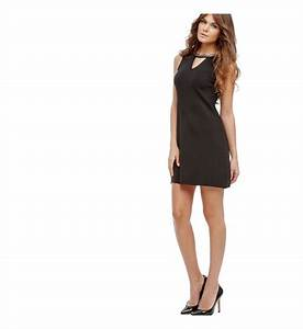 robe stretch chaine guess noir femme galeries lafayette With robe guess femme