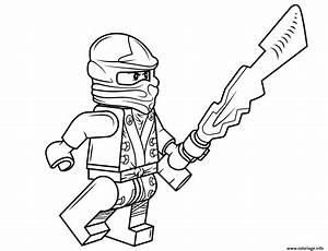Coloriage Lego Ninjago Cole Dessin