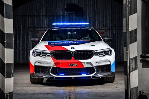 Bmw Parts by Bmw Show New M5 With M Performance Parts As Motogp