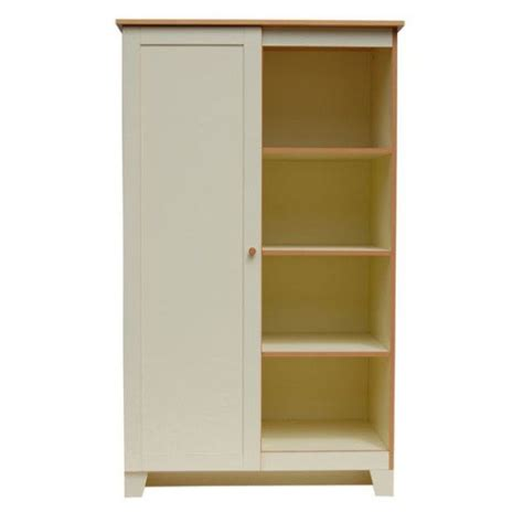 Wooden Wardrobe With Shelves by Children S Wardrobe Brown White Wooden Children S Wardrobe