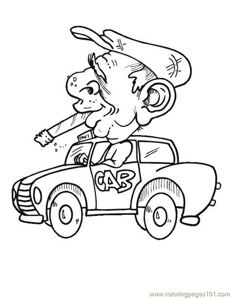 man smoking car coloring page  racing cars