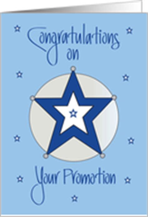 congratulations  police officer promotion cards