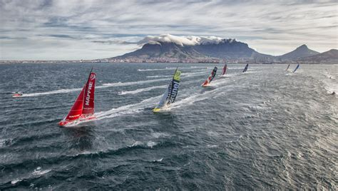 route  volvo ocean race  miles  time