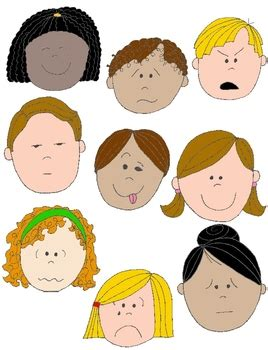 Feelings Clipart Feelings Clipart Kid Emotion Pencil And In Color