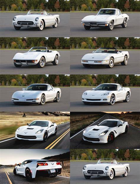 Evolution Of Cars Time by 2014 Chevrolet Corvette Stingray Animated Evolution In