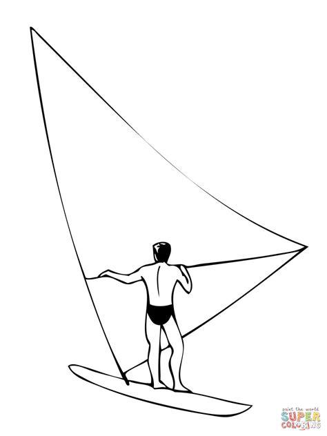 Kleurplaat Surfen by 301 Moved Permanently