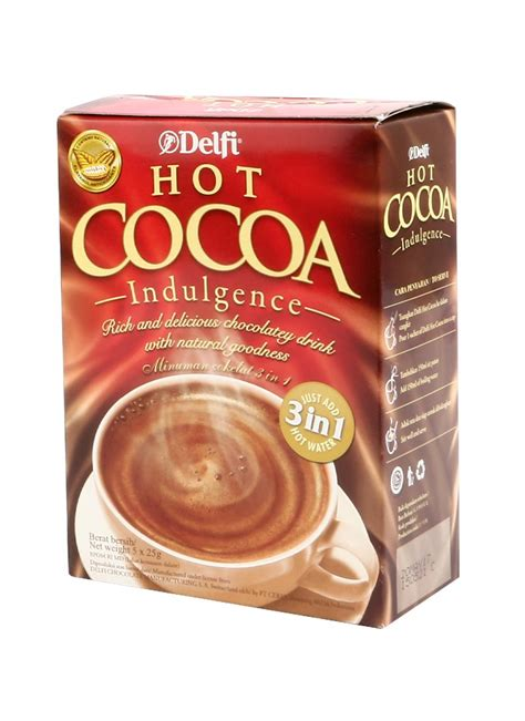 delfi hot cocoa indulgence box xg klikindomaret