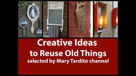 Creative Ideas To Reuse Old Things Turned Into New Things