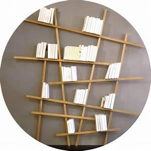 Bibliothèque Profondeur 18 Cm : bibliotheque asymetrique ~ Teatrodelosmanantiales.com Idées de Décoration