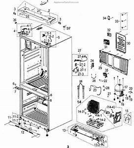 Parts For Samsung Rfg297aars  Xaa  Cabinet Parts