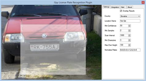 License Plate Recognition Source Code Copyright