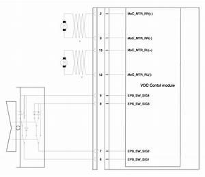 Hyundai Sonata  Electric Parking Brake  Epb  Schematic