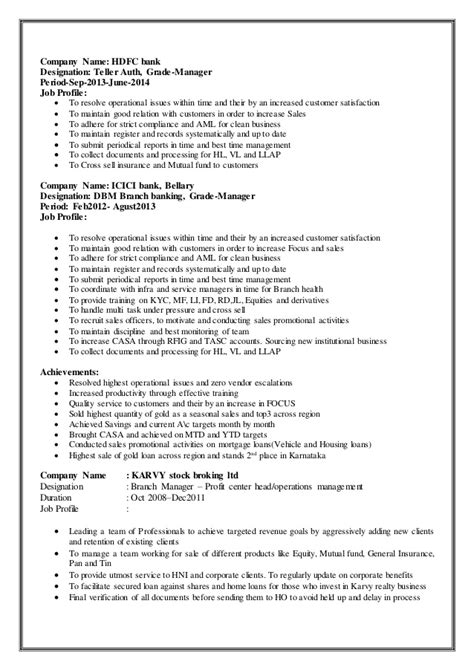Submit Resume In Icici Bank  Resume Ideas