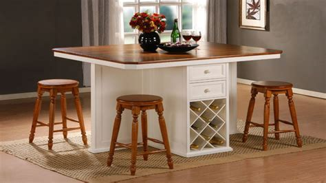 Counter top tables, kitchen island counter height table