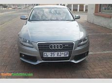 2010 Audi A4 EX used car for sale in South Africa