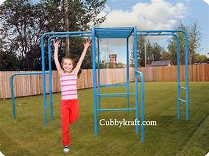 Gym Monkey Bars Playground Equipment from Cubbykraft