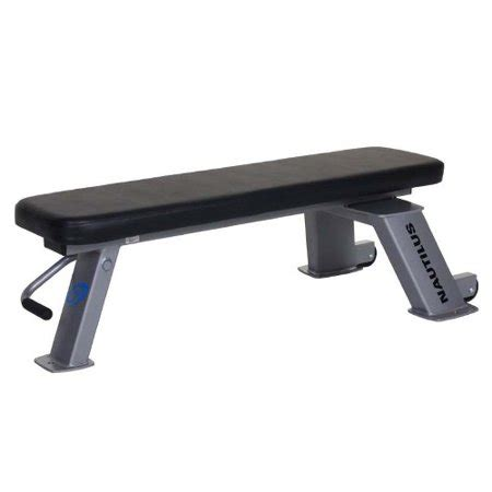 Nautilus Workout Bench by Nautilus Flat Utility Bench Walmart