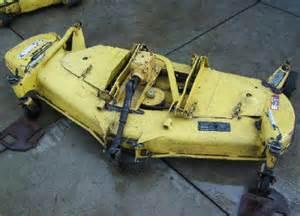 john deere 60 mower deck parts