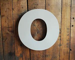 large metal letter o cast metal letter wired for hanging big With metal letter o