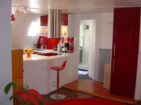 cuisine et blanc par l architecte d interieur severine kalensky