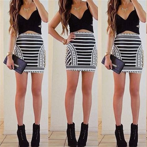 Mini skirt outfit | Outfit ideas | Pinterest | Skirts Minis and Love this
