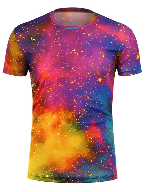 colorful shirts t shirts 3xl colorful tie dye trippy galaxy t shirt gamiss