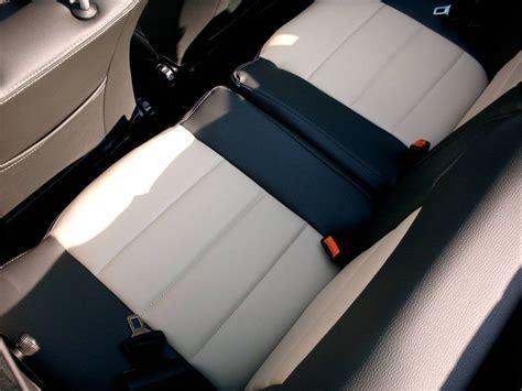housse siege golf 1 cabriolet golf cabriolet mk1 siége de cuir artificiel couvre en noir