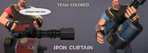 Tf2 Iron Curtain Market by Team Iron Curtain Team Fortress 2 Gt Skins Gt Heavy Weapons