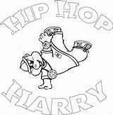 Hop Hip Coloring Rap Dance Ausmalbilder Sheets Dancing Sheet Popular Mermaid sketch template