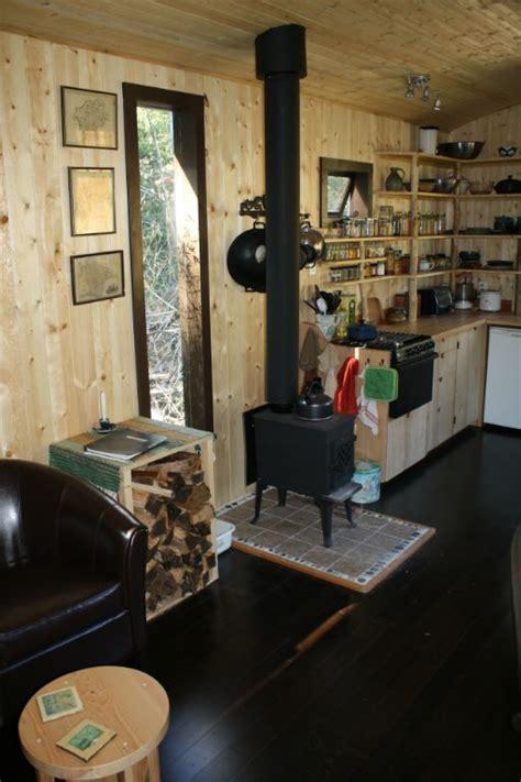 Tony's Caravan Tiny House by Hornby Island Caravans