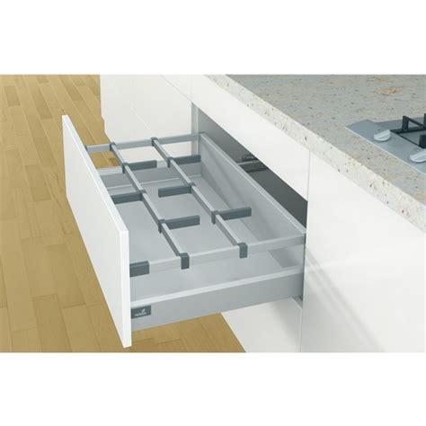 barre de rangement cuisine tringle transversale pour tiroir casserolier arcitech orgastore 400 bricozor