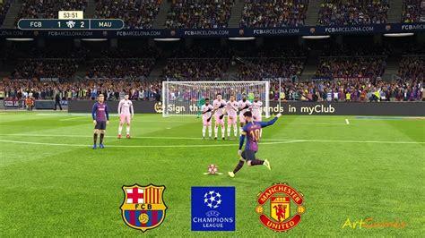 UCL | BARCELONA vs MANCHESTER UNITED | 5 - 2 | ALL GOALS ...