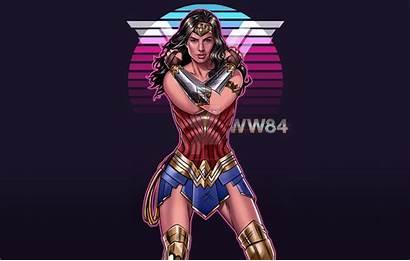 Wonder 1984 Woman Wallpapers 4k Artwork Desktop