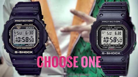 G-Shock GW-5000 or DW-5035D model | Q&A - YouTube