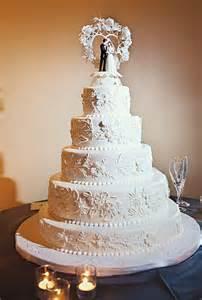 traditional wedding cakes white wedding cake with figurine topper wedding cakes photos brides