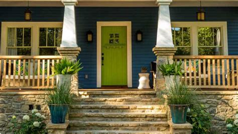 What To Know Before Painting Your Front Door Bright Green