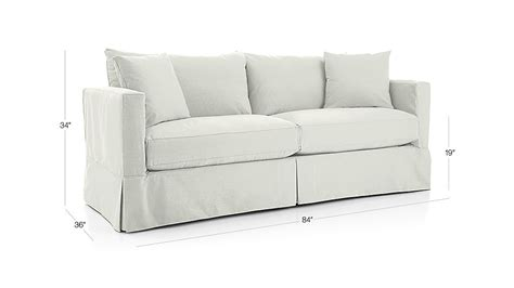 Crate And Barrel Willow Sleeper Sofa by Willow Sleeper Sofa Deso Snow Crate And Barrel
