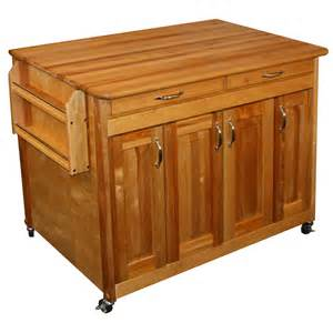 Kitchen Islands At Lowes Shop Catskill Craftsmen 44 375 In L X 30 In W X 34 5 In H Kitchen Island With Casters At